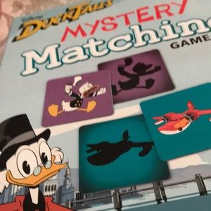 Duck tales mystery matching game. Ages 5 and up